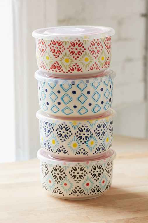 Ceramic Food Storage Bowl Set Urban Outfitters