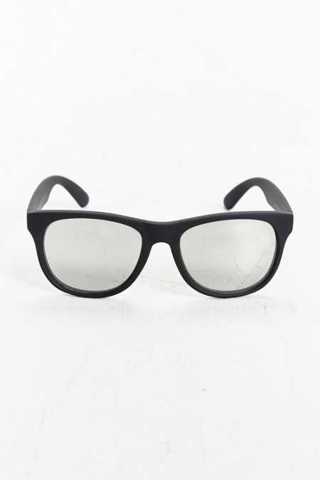 Rubberized Matte Square Sunglasses