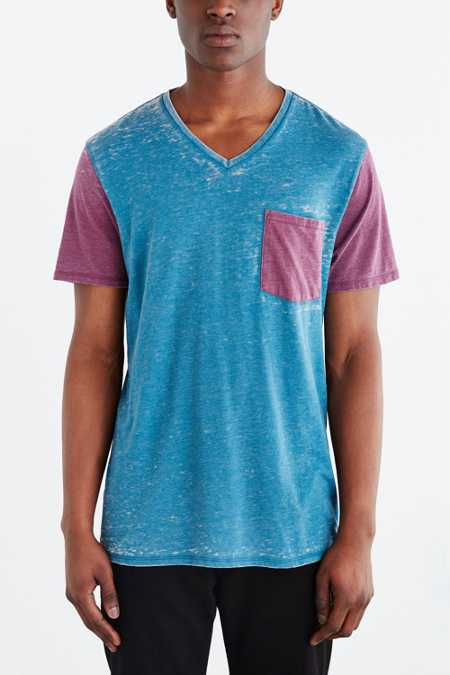 BDG Burnout Standard-Fit V-Neck Tee
