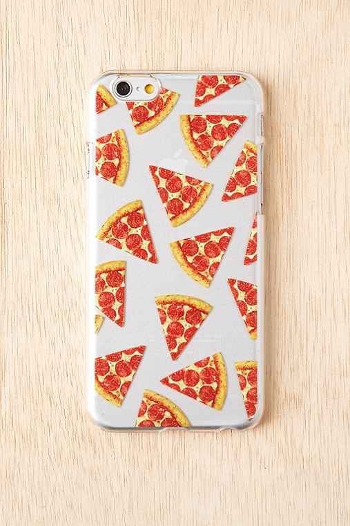 Skinnydip I Love Pizza iPhone 6/6s Case,CLEAR,ONE SIZE