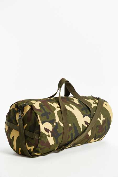 Rothco Woodland Camo Canvas Duffel Bag