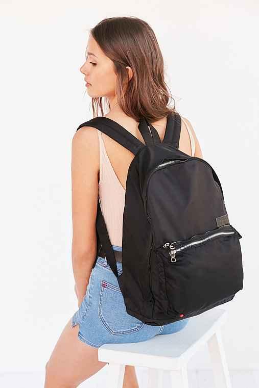 STATE Bags Lorimer Nylon Tri Backpack,BLACK,ONE SIZE