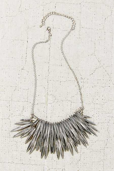 Burning Rays Statement Necklace