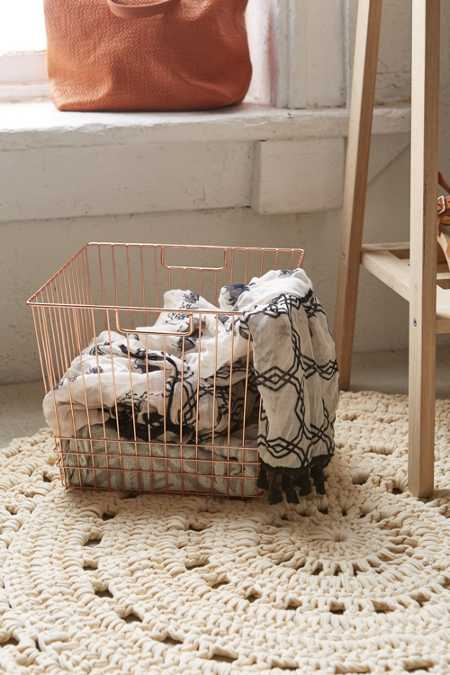Wire Basket - Urban Outfitters