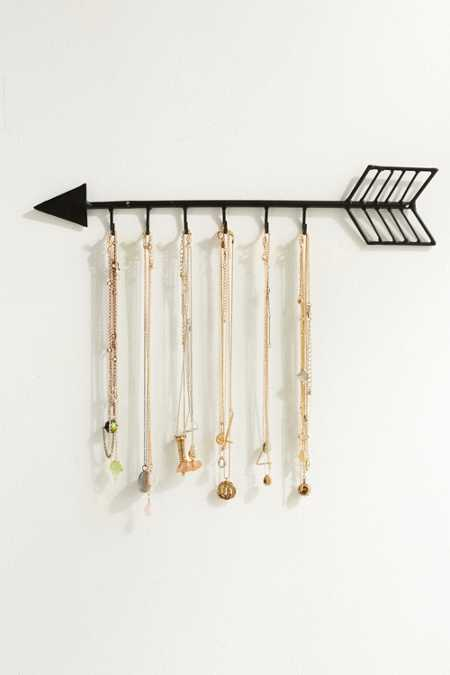 Arrow Necklace Organizer