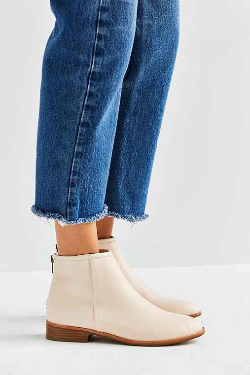 Poppy Ankle Boot,IVORY,6