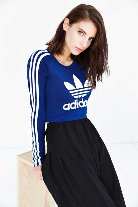adidas Paris Cropped Tee