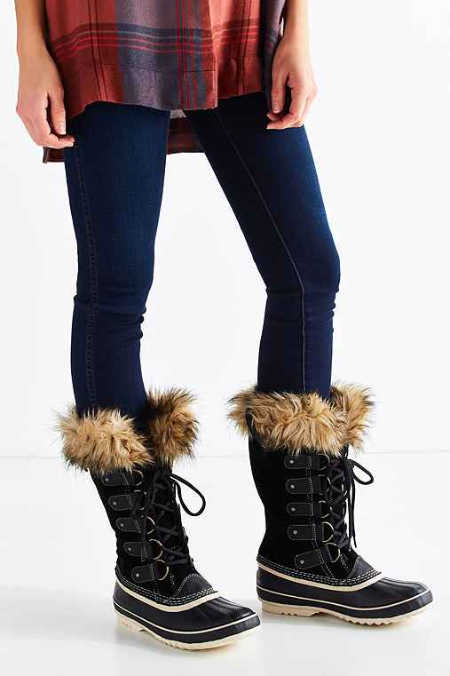Sorel Joan Of Arctic Boot,BLACK,10