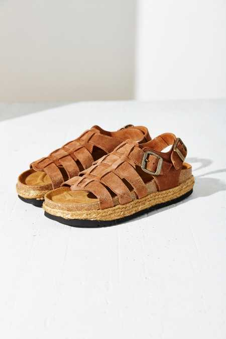 Jeffrey Campbell X UO Suede Rayanne Sandal