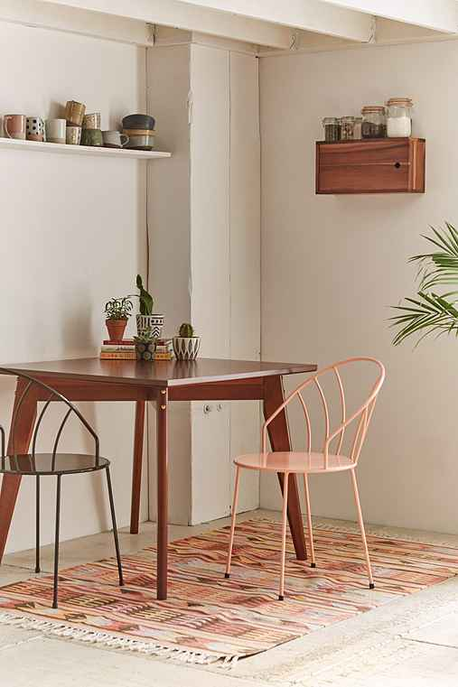 Tinka mid century modern dining table urban outfitters for Table design using jsp