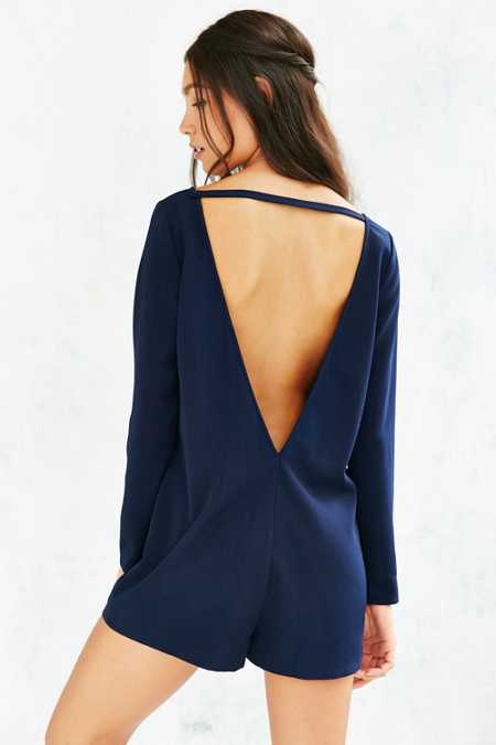 Cooperative Deep V-Back Romper