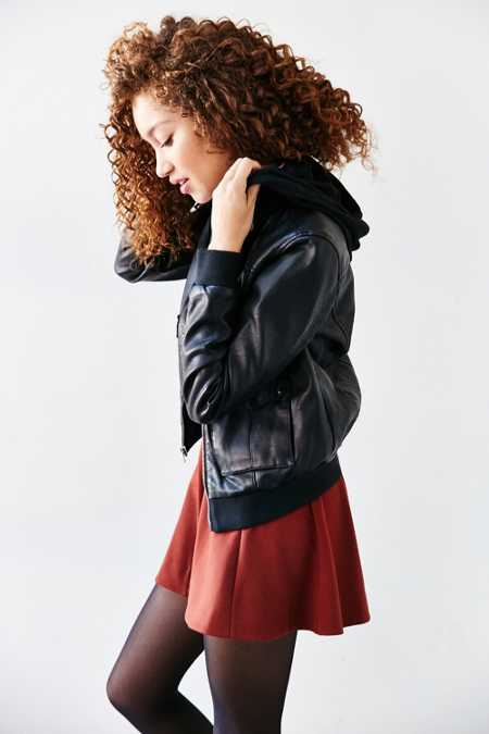 Levi's Vegan Leather Hooded Jacket
