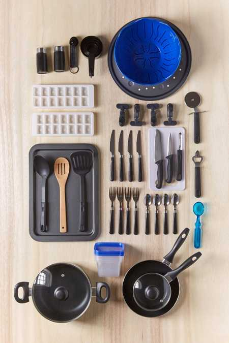 Total Kitchen 59-Piece Set