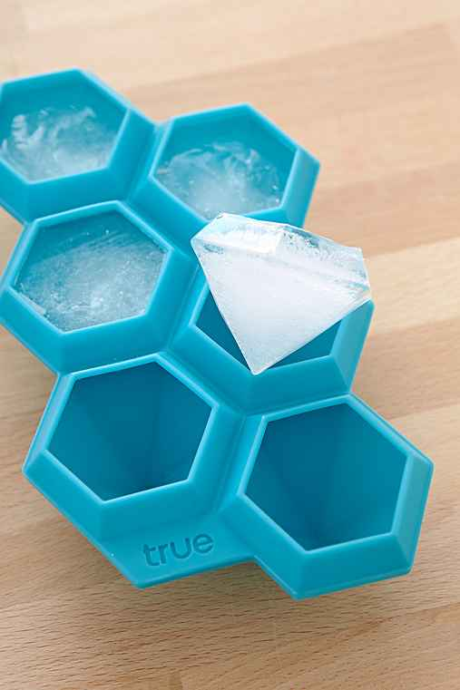 Diamond Ice Cube Tray,BLUE,ONE SIZE