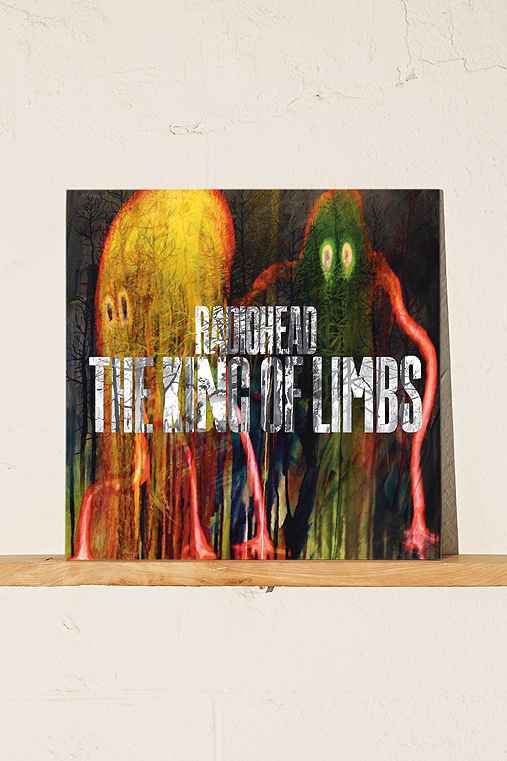 Radiohead - The King Of Limbs LP,BLACK,ONE SIZE