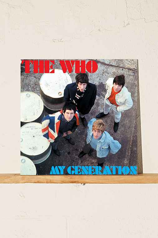 The Who - My Generation: The Very Best Of The Who 2XLP,BLACK,ONE SIZE
