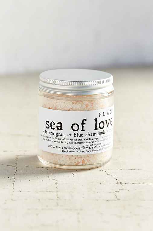 Plantfolk Apothecary Soaking Salts,SEA OF LOVE,ONE SIZE