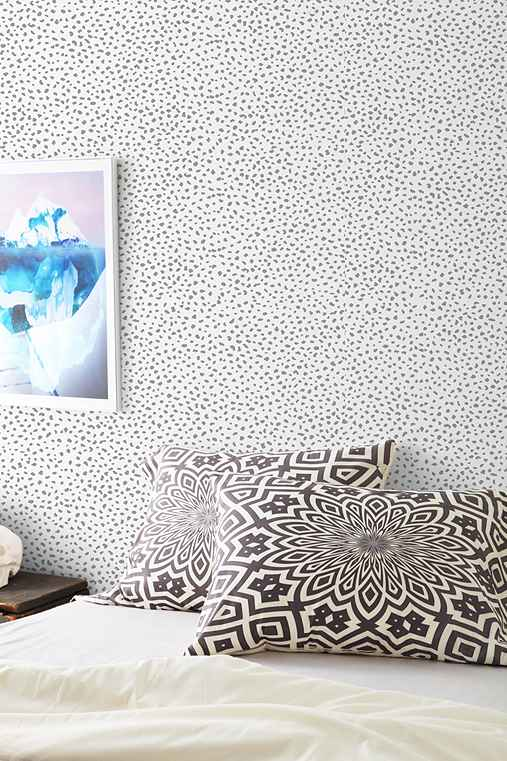 chasing paper speckle removable wallpaper urban outfitters