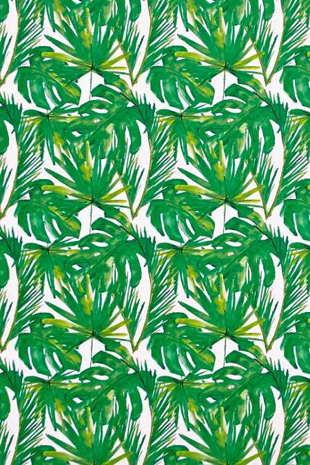 chasing paper green leaf removable wallpaper