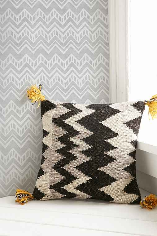 Chasing Paper Chevron Removable Wallpaper,GREY,ONE SIZE