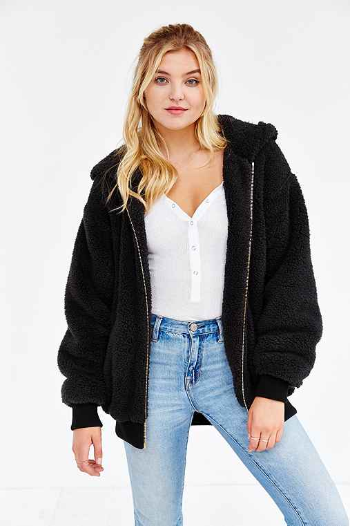 OBEY Fuzzy Alps Jacket - Urban Outfitters