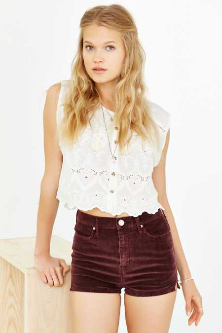 BDG Four-Pocket Pin-Up Corduroy Short