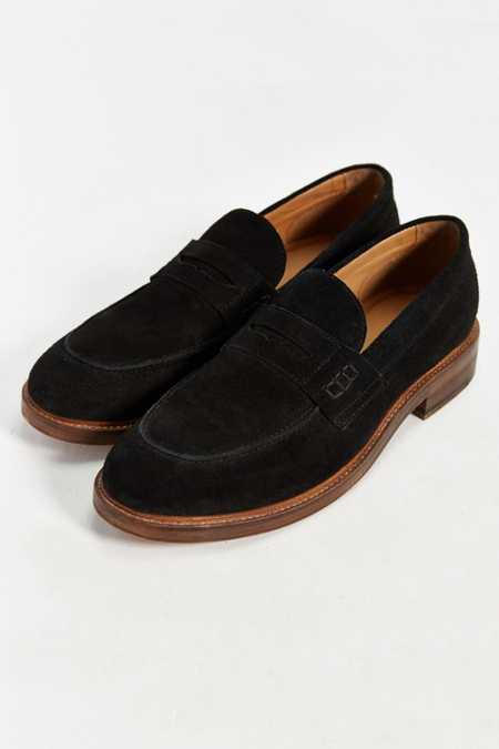 Hawkings McGill Suede Penny Loafer