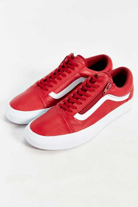 Vans Old Skool Leather Zip Sneaker