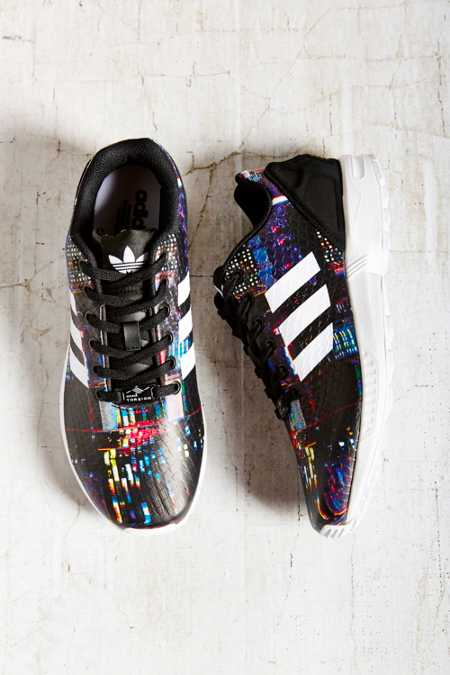 adidas Originals ZX Flux City Print Running Sneaker