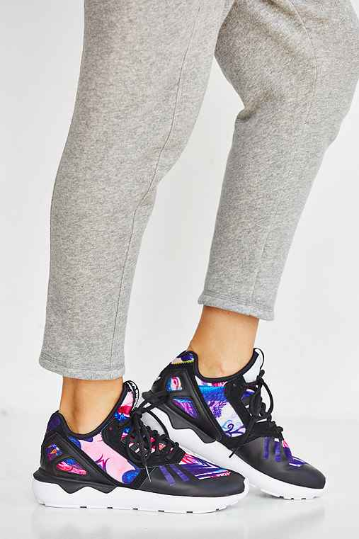 Adidas originals tubular floral sneaker for Adidas floral shirt urban outfitters
