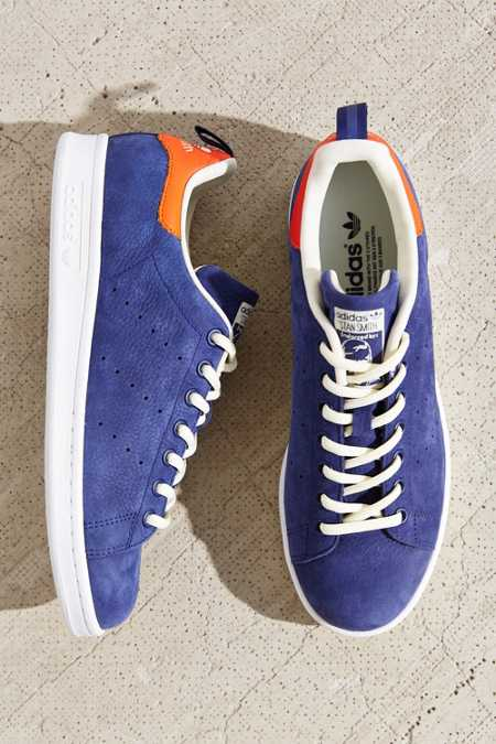 adidas Leather Nubuck Stan Smith Sneaker