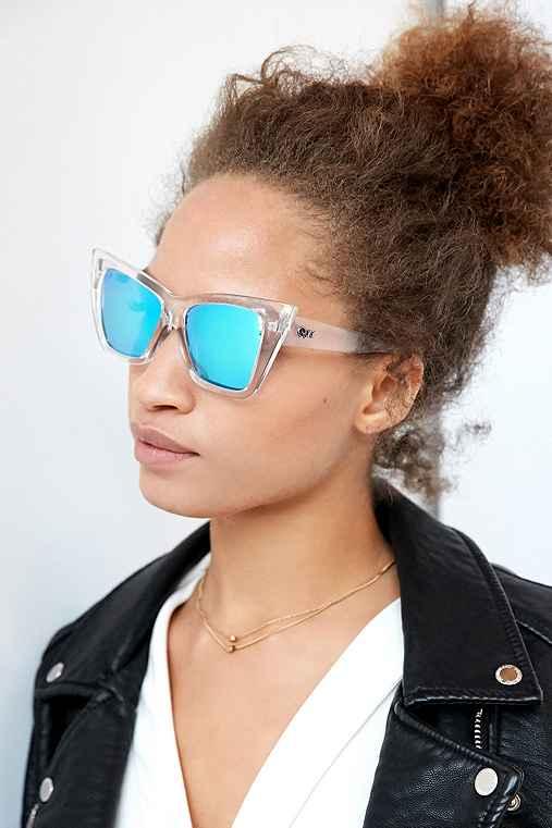 Quay X Shay Mitchell Vesper Sunglasses,CLEAR,ONE SIZE