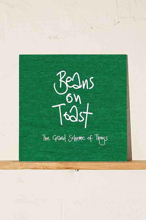 Beans On Toast - The Grand Scheme Of Things LP,BLACK,ONE SIZE