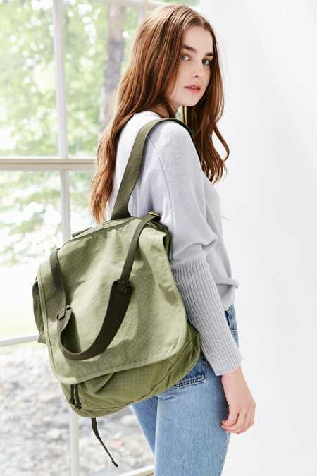 BDG XL Flap Army Tote Pack