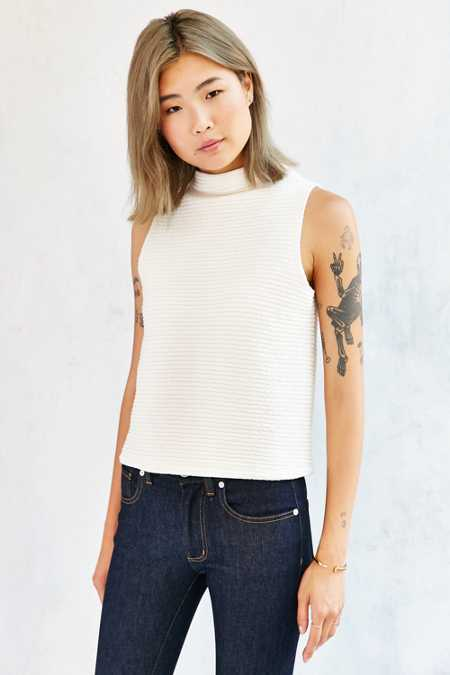 Truly Madly Deeply Cropped A-Line Tank Top