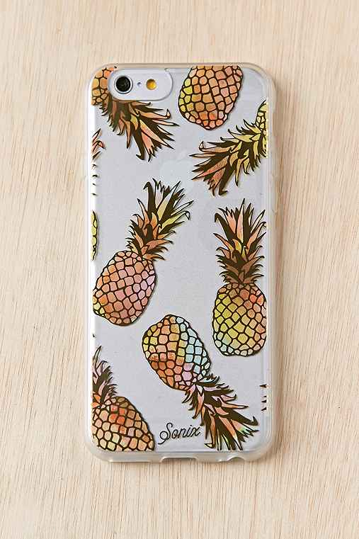 Sonix Clear Pineapple iPhone 6/6s Case,CLEAR,ONE SIZE