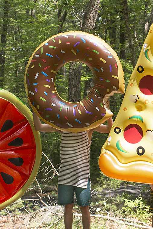 Chocolate Donut Pool Float,BROWN,ONE SIZE