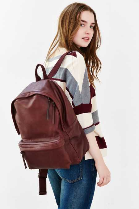 BDG Leather Backpack