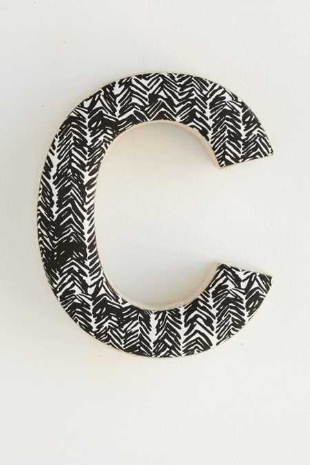 Plum & Bow Batik Decorative Letter
