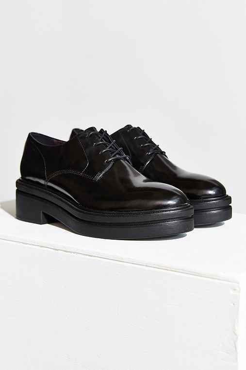 Vagabond Iza Platform Oxford,BLACK,US 9/EU 39