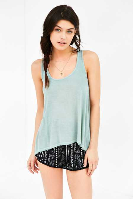 Truly Madly Deeply Racerback Swing Tank Top