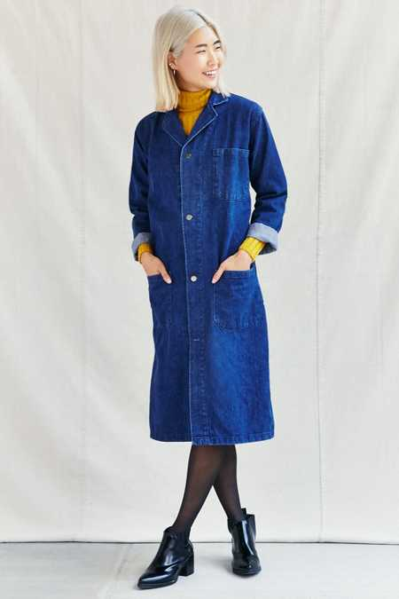 Urban Renewal Remade Denim Maxi Coat