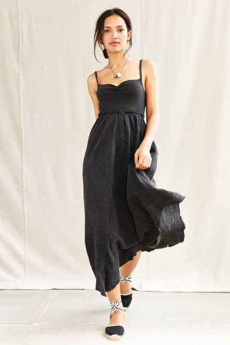 Urban Renewal Remade Ballet Rib Tank Maxi Dress