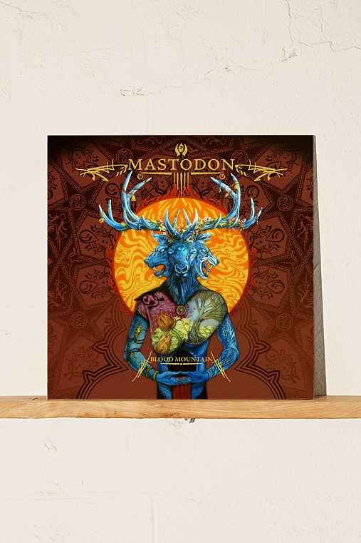 Mastodon - Blood Mountain LP,BLACK,ONE SIZE