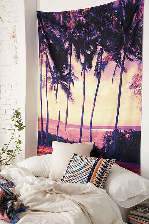 Deb haugen for deny crozier sunset tapestry urban outfitters for Space themed tapestry