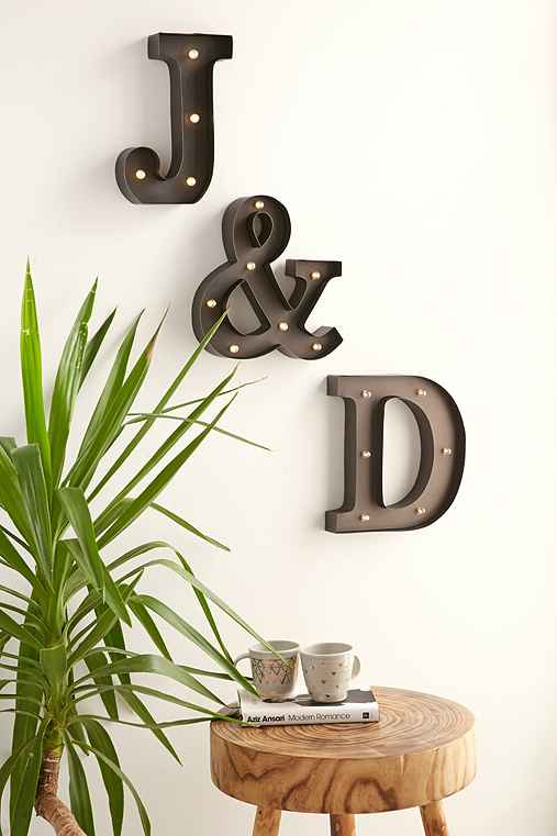 Letter Marquee Light,A,ONE SIZE