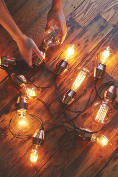 Metal Cap String Lights : Metal Cap String Lights - Urban Outfitters