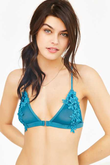 Out From Under Lauren Applique Bra
