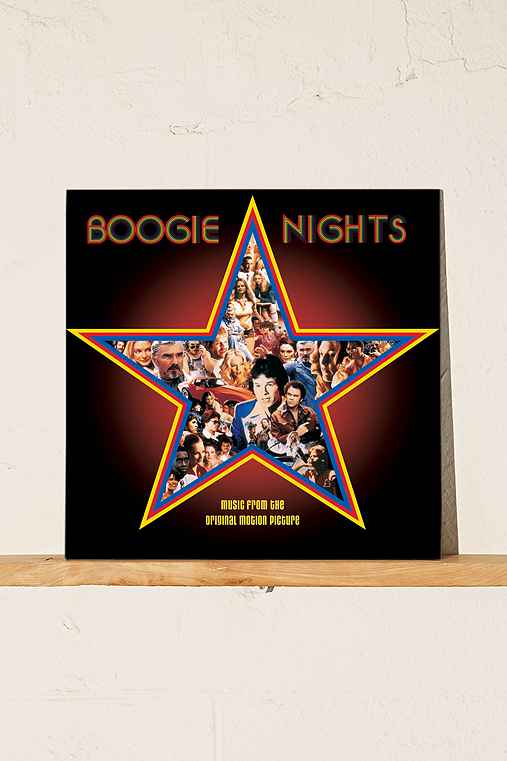 Various Artists - Boogie Nights Soundtrack LP,BLACK,ONE SIZE