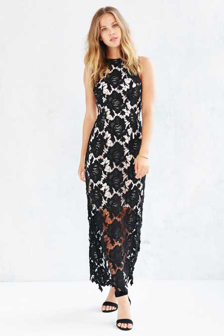 Keepsake True Love Lace Maxi Dress